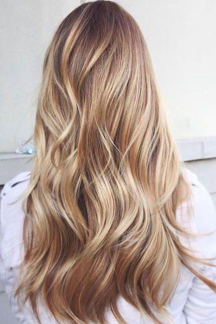sarı ombre saç modelleri