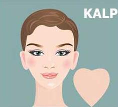 kalp yüz şekline hangi saç modelleri yakışır?
