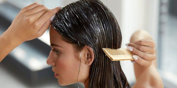 Normal Saçlar için Parlaklık Veren Maske: