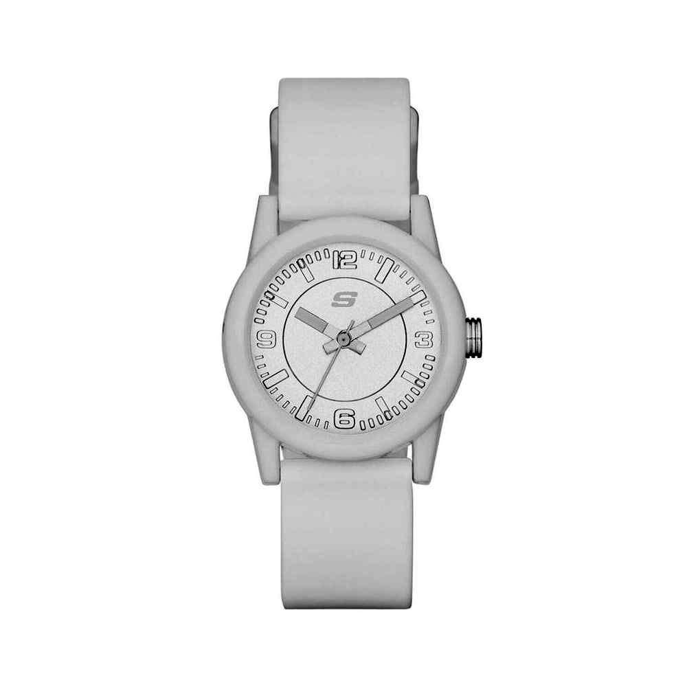 beyaz deri Kadın kol saati