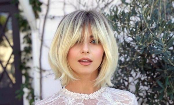 kısa katlı saç modelleri 2021